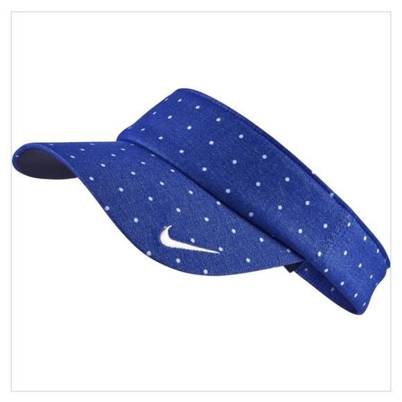 108446b16 Nike Women's Golf Visor Polka Dot Design NWT